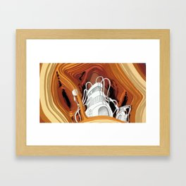 Fermatic Embrace Framed Art Print