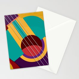 Musical Close Up Stationery Cards