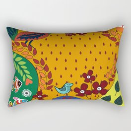Pattern X Rectangular Pillow