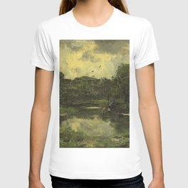 Jacob Maris - Landschap met schuit T-shirt