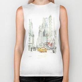 New York City Taxi Biker Tank