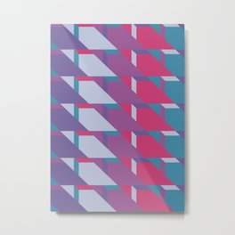 Abstract Drama #society6 #violet #pattern Metal Print