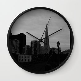 Looking Back Wall Clock