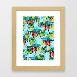 We are their cure Framed Art Print