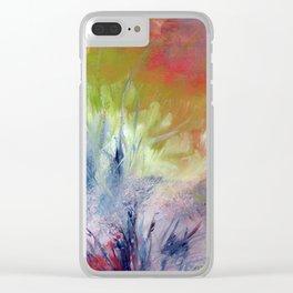 Parmi les herbes Clear iPhone Case
