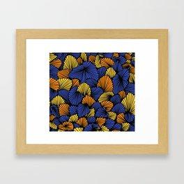 Happy abstract: Jungle Nr:03 Framed Art Print