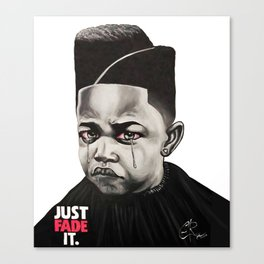 Just Fade It Canvas Print