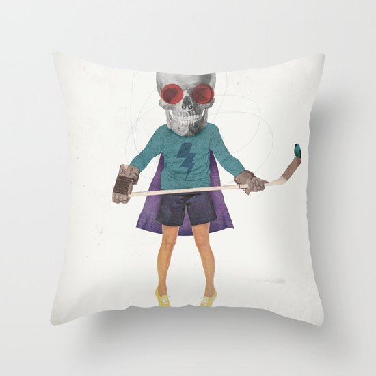 Superhero #9 Throw Pillow