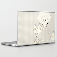 boy Laptop & iPad Skins featuring Boy by Ana Magalhães