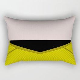 James T Kirk - Minimalist Star Trek 2009 AOS - Into Darkness -  James Jim - Trektangle - Trektangles Rectangular Pillow