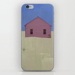 Beach Cottages, colorful houses, coastal, row houses iPhone Skin