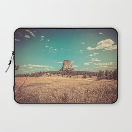 Devil's Tower National Monument Wyoming Laptop Sleeve