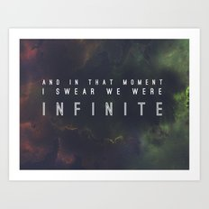 New Infinite Print Art Print