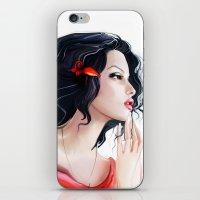 gypsy iPhone & iPod Skins featuring Gypsy by tatiana-teni