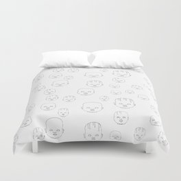 Dolls #2 Duvet Cover