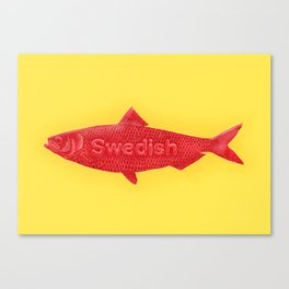 Swedish Fish Canvas Print