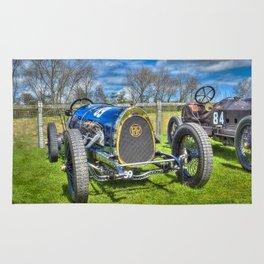 Pic-Pic Vintage Racing Car Rug