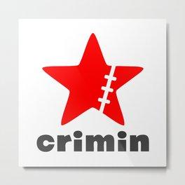 Crimin Metal Print
