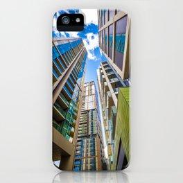Modern Urban Design iPhone Case