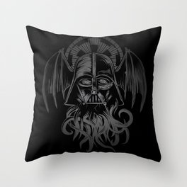 Darth Cthulu Throw Pillow