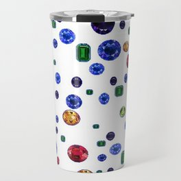ASSORTED GEMS RAINING Travel Mug