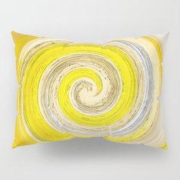 257 - Abstract Spiral Design Pillow Sham