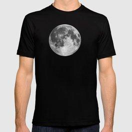 Full Moon on Navy English T-shirt