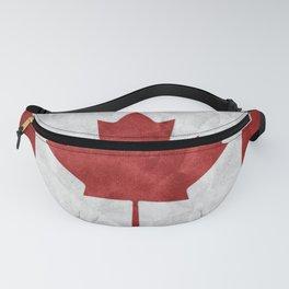 Canada Grunge Flag Fanny Pack