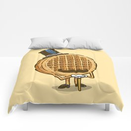 The Fancy Waffle Comforters
