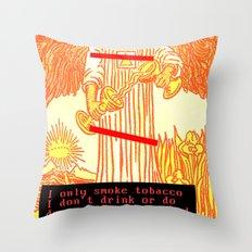 Temperance Bynes Throw Pillow