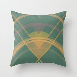 Geometry Light and Bright Throw Pillow