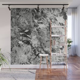Warfare In Black And White Wall Mural