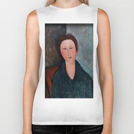 "Amedeo Modigliani ""Buste de jeune fille (Mademoiselle Marthe)"" Biker Tank"