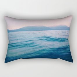 the lakes ripples Rectangular Pillow