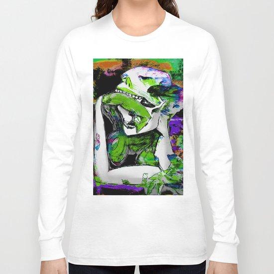 Sugar Skull Kisses Long Sleeve T-shirt