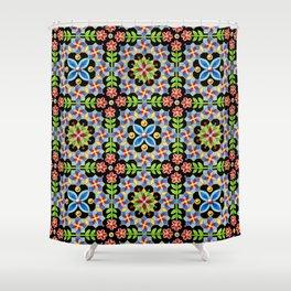 Decorative Gothic Revival Shower Curtain