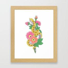 The Serpent Underneath Framed Art Print