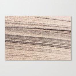 Sand draw Canvas Print