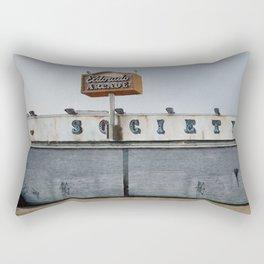 El Dorado Aracde - F Society - Mr Robot Rectangular Pillow