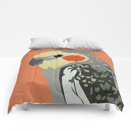 Marcus the cockatiel Comforters