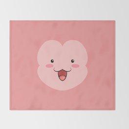Peepoodo Face Throw Blanket