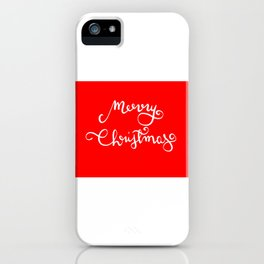 Merry Christmas n.3 iPhone Case