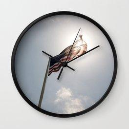American Glow Wall Clock