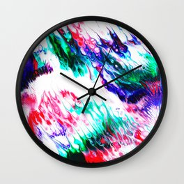 Colorful Fluctuation Wall Clock
