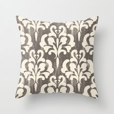 Damask1 Throw Pillow