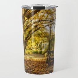 Autumn mood in Princeton Travel Mug