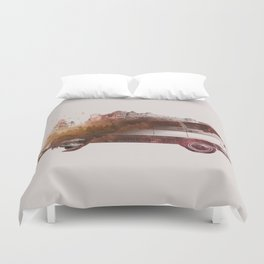 Drive me back home Duvet Cover