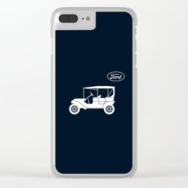 Ford Model T Clear iPhone Case