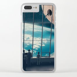 Space Jump Clear iPhone Case