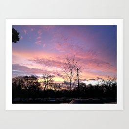 Good Morning, the Sun Says Hello Art Print